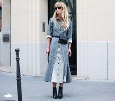 34 Chic Street Style Looks From Paris Fashion Week via @WhoWhatWearUK