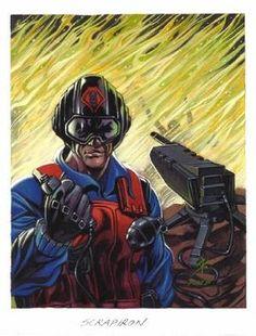 Scrap Iron Cartoon Clip, Cartoon Shows, 80s Characters, Cobra Art, Old School Cartoons, Cobra Commander, Gi Joe Cobra, Nerd Art, Hero Movie