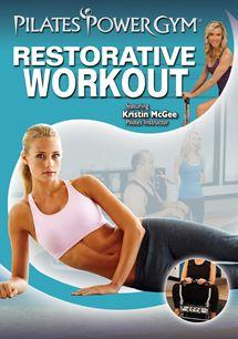 Restorative dvd for Pilates Power Gym, beginner pilates moves Pilates At Home, Pilates Body, Pilates Video, Pilates Instructor, Pilates For Beginners, Pilates Reformer, Pilates Workout, Gym Beginner, Beginner Pilates