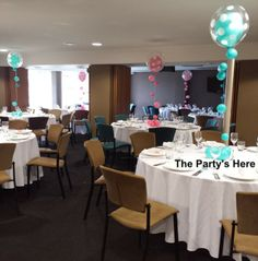 Polka Dot Bubbles with strands for a Little Mermaid themed party.   #qualatex #caribbeanblue #pink #blue #balloons #cba #balloondecorating #balloondelivery #polkadots #party #event #birthday #function #decorations #decorating www.thepartyshere.com.au