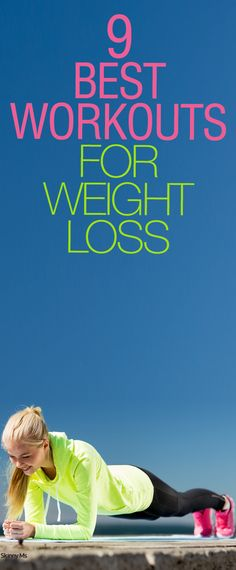 Weight loss workouts to help you get fit and burn some calories.