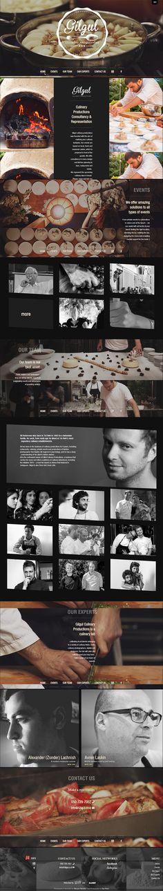 Magnifique site web pour le restaurant Gilgul, avec de beaux effets de parallax : http://gilgul.co.il/eng.html #webdesign #parallaxeffects #website