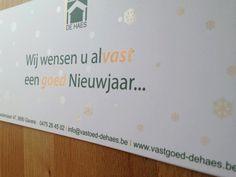 Ontwerp & Realisatie Kerstkaart Vastgoed De Haes