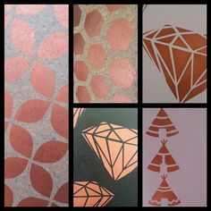 Designs available in copper.  Custom colour orders welcome.
