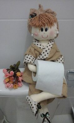 - organizing my castle Unique Toilet Paper Holder, Fabric Basket Tutorial, Bathroom Crafts, Arts And Crafts, Diy Crafts, Organizer, Doll Patterns, Doll Clothes, Projects To Try
