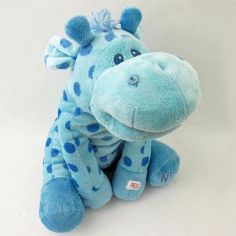 Nighty Night Blue Giraffe