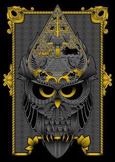 Design Kaos, Anima Mundi, Owl Artwork, Raven Art, Avengers Wallpaper, Cool Backgrounds, Mural Art, Art Festival, Aesthetic Art