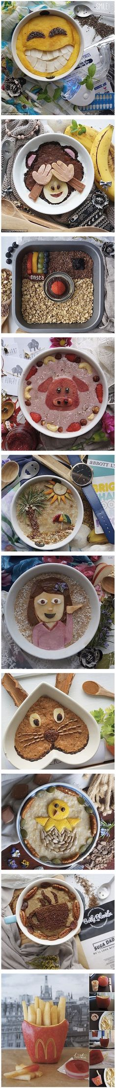 A good way to start the day. Funny food #cereal