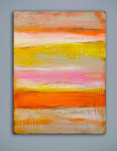 Sherbet Summer Love by erinashleyart on Etsy, $400.00