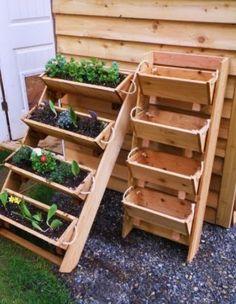 Ideas for small gardens - Balconies14