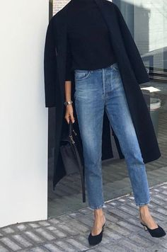Casual Work Outfits For Summer To Try This Year - Business Kleidung Damen Look Jean, Fall Pants, Women's Pants, Long Pants, Fashion Looks, Style Fashion, Fashion Top, Trendy Fashion, Jeans Fashion