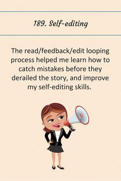189: Self-editing.
