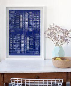 House Reflections Paper Cut | Famille Summerbelle