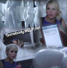 The liars have a way of venturing into the creepiest stores/warehouses - PLL