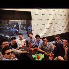 BYSE (Bocconi Young Students Entrepreneurs) all'aperitivo organizzato da Reply U per lo Students Bank Clash 2015