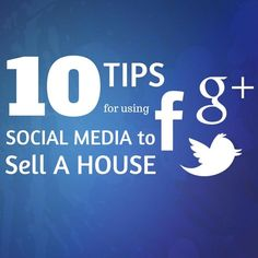 Do you need a buyer fast? Here are 10 power ideas to use social media to sell a house. You'll learn tricks about Facebook, Twitter, and Pinterest that will