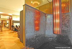Location: Milan, Piazza Fontana, Italy    Year of manufacture: 2008    Square meters: 2000 mq    Type: Hotel    Collections Maiolica Oro, Vetro Neutra 07 carbone        Designer: Nicola Gallizia    www.nicolagalliziadesign.com