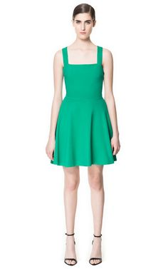 f A-LINE SLEEVELESS DRESS from Zara