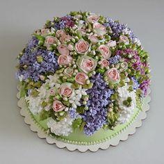 10+ Tartas florales para celebrar el retorno de la primavera