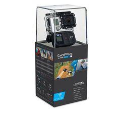 GoPro Hero 3 Camcorder Black Edition With Built in WiFi- New and Unopened! Gopro Hero 3, Helmet Camera, Camera Gear, Camcorder, Wifi, Go Pro, System Camera, Full Hd 1080p, Black