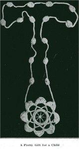 VTNS Fan Freebie Friday – Child's Necklace Vintage Crochet Pattern