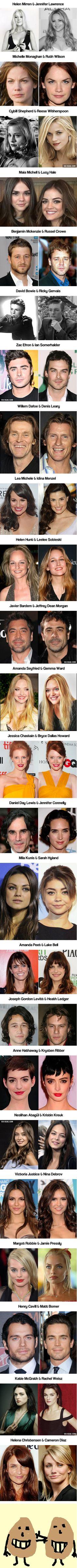 48 celebrity look alikes