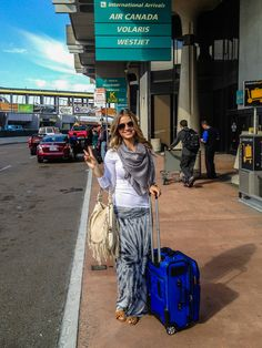 Loose fitting layers for flights