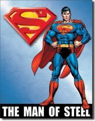 Superman The Man Of Steel Sign