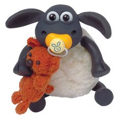 Baby Shaun the Sheep, Wallace and Gromit (so cute!)