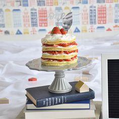 1歳の誕生日にもぴったり!簡単かわいいネイキッドケーキの作り方|by ARCH DAYS編集部 / ARCH DAYS