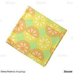 Citrus Fruits Bandana