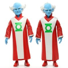DC Direct Collectibles Green Lantern GANTHET & GUARDIAN Action Figures 2005 #DCDirect