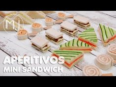 6 APERITIVOS RÁPIDOS | Canapés fríos con pan de molde - YouTube Food Trays, Food Dishes, Ideas Para Canapés, Canapes Faciles, Cooking Without Oil, Healthy Eating Tips, Appetizers For Party, Afternoon Tea, Buffet