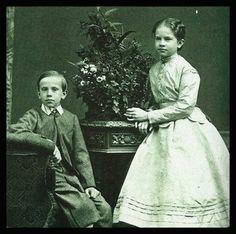 Rudolf and his sister Gisela