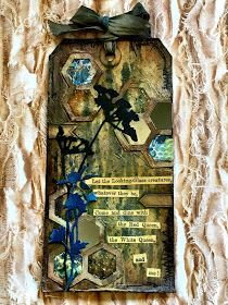 TheWonderFound: Tim Holtz 12 Tags of 2016 - AUGUST