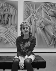 Photographer Captures 100 Female Artists In Their Homes And Studios, Judy Chicago, Judy Chicago, Female Heroines, African Textiles, Feminist Art, Female Photographers, Women In History, Studio Portraits, New Artists, Art Studios