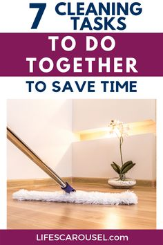 Speed up your cleaning routine with these cleaning duo ideas. Cleaning tasks that you can combine so you can keep your home clean without spending hours cleaning. Cleaning Schedules, Weekly Cleaning, Household Cleaning Tips, House Cleaning Tips, Spring Cleaning, Cleaning Hacks, Task To Do, Disinfecting Wipes, Old Towels