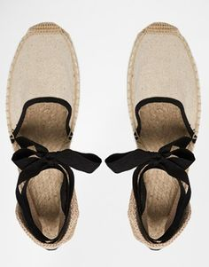 Enlarge Soludos Classic Woven Tie Up Sand Flat Shoes