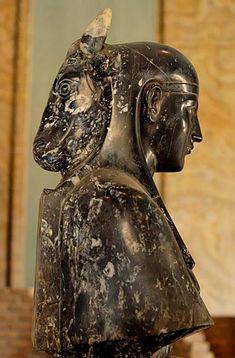 Bust of Osiris-Apis (Osirapis) Vatican Museums.