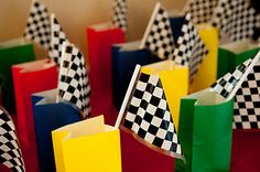 hot wheels party favor bags