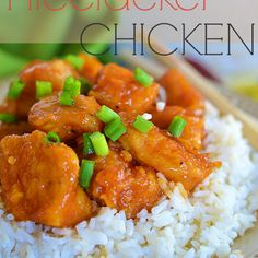 Love spicy food.....this looks easy to do....Mmmm, instead of rice use pasta!