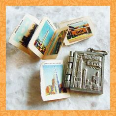 Vintage 1930's New York City Photo Album Book Souvenir Charm | $68..... Id like it more if it was Chicago