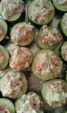 Crab-Stuffed Cucumbers