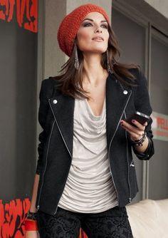 Bouclé-Jacke, Aniston im Online Shop von QUELLE Versand