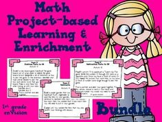 Operations and Algebraic Thinking Bundle! Math project-based learning and enrichment for your high-achieving students based on the Common Core State Standards and the enVision Math topics on the Operations and Algebraic Thinking domain.