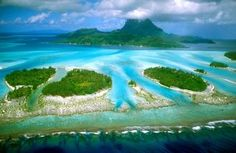 Bora Bora in Tahiti, South Pacific is among the most Exotic Travel Destinations Beautiful Places In The World, Beautiful Places To Visit, Places To See, Amazing Places, Wg In Berlin, Dream Vacations, Vacation Spots, Vacation Deals, Tourist Spots