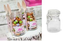 Glam Camping Individual Camping Trail Mix treats!