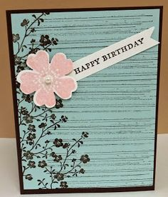 Devoted Stamper: World Card Making Day-Morning Meadow and Gorgeous Grunge