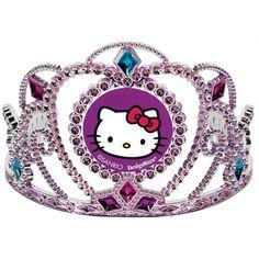 1 Piece 3 1//2. Blue//Pink Disney Ariel Princess Tiara Birthday Party Wearable Favour