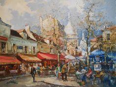 Robert Ricart . Artiste peintre PARIS